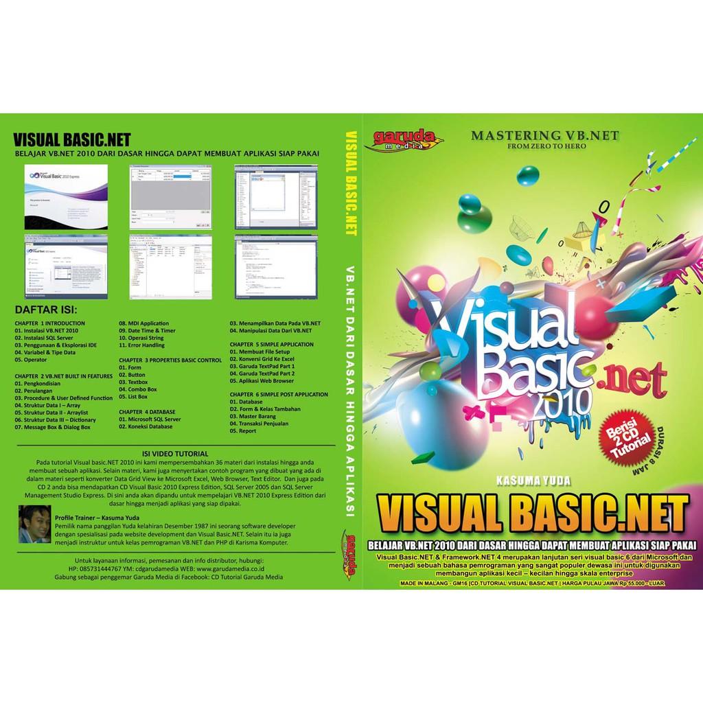 Tutorial visual basic 2010 express pdf bahasa indonesia.
