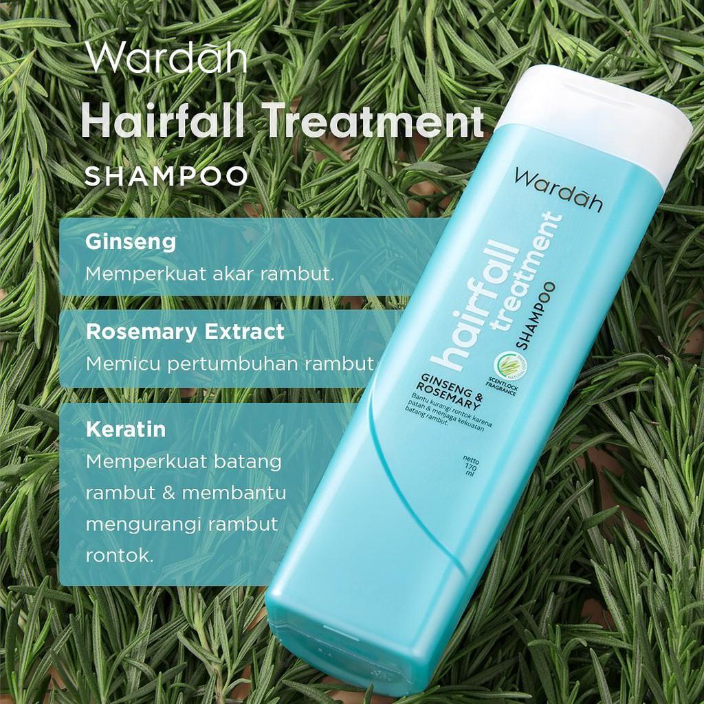 ❤ BELIA ❤ Wardah Shampoo & Conditioner   Daily Fresh Hairfall Treatment Anti Dandruff Nutri Shine-4