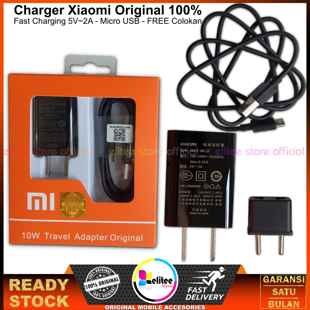 Xiaomi Charger Fast Charging Mini Portable 2 Port USB QC3.0 Quick Charge untuk Travel | Shopee Indonesia