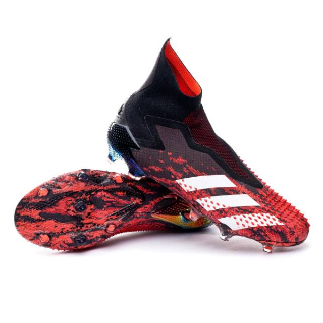 Sepatu Bola Adidas Predator Mutator 20 Active Red Core Black