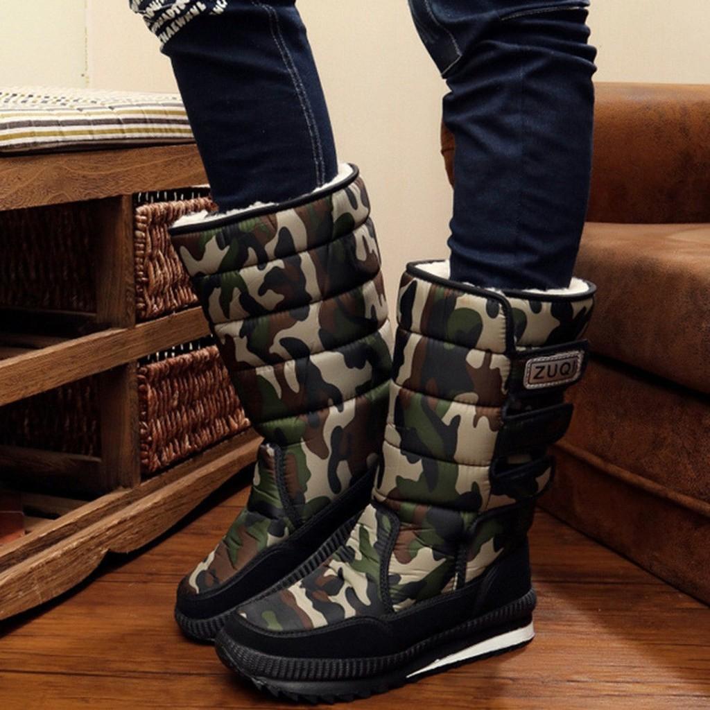 Fashion Pria/Wanita: Alibato Sepatu Boots Anti Air untuk Salju Musim Dingin