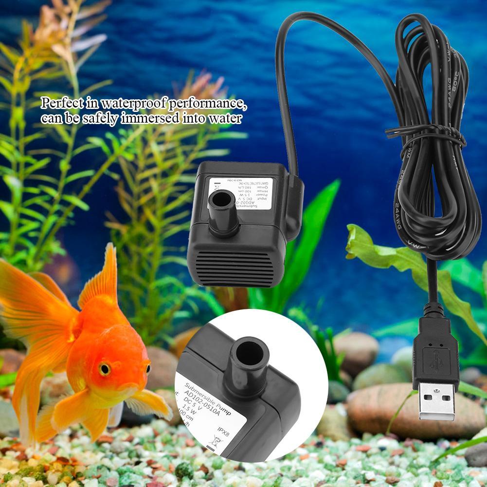 Pompa Elektrik Tanpa Sirkulasi Air Untuk Akuarium Ikan