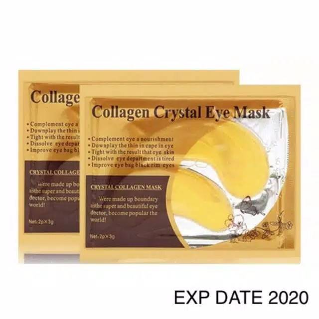 Masker Mata Emas / Gold Collagen Crystal Eye Mask KUKE original