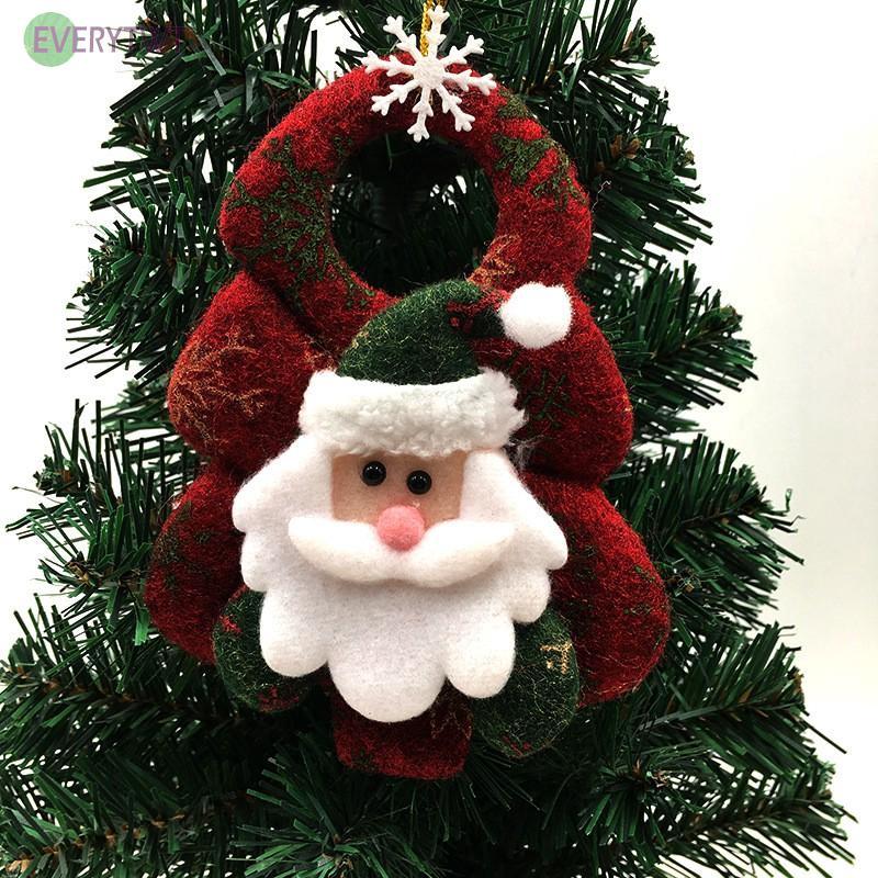 Christmas Santa Claus Ornaments Festival Party Xmas Tree Hanging Decoration Tool