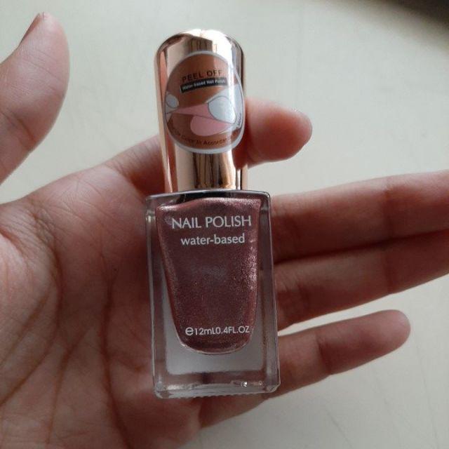 Nail Polish Arti Indonesia: Miniso Official Water Based Nail Polish (2 Warna)