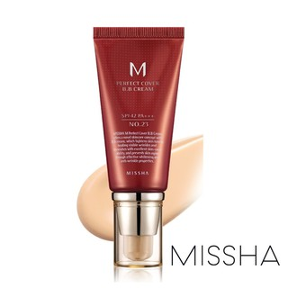[BPOM] MISSHA M Perfect Cover BB Cream SPF42 PA+++ (50ml) Original Korea thumbnail