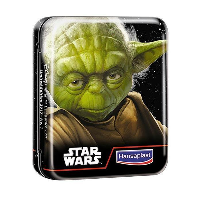 Hansaplast Plester Disney StarWars Kids Model Tin Can Box | Shopee Indonesia
