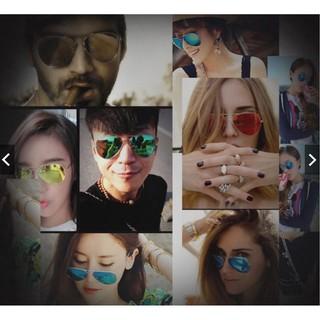 ... Kacamata Pelindung Matahari dengan Model Cermin dan Bahan Logam Bergaya  Retro untuk Wanita Dan Pria. suka  659 ae6f4a1194