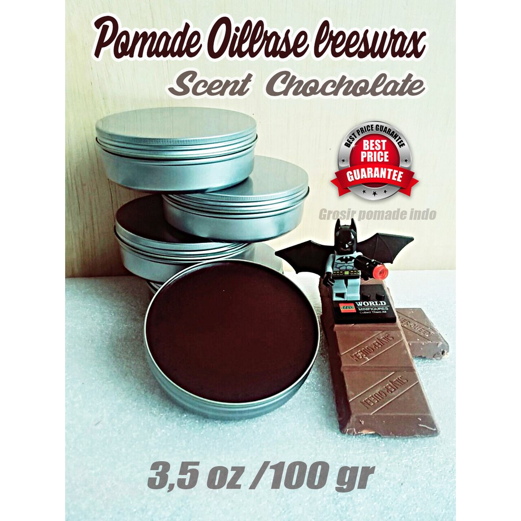 Pomade Oil Chocholate Satuan 35 Oz 100 Gr Murah Beeswax Shopee Mini Hiroshi 22 Indonesia