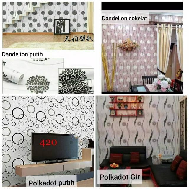 Wallpaper Dinding Stiker Motif Minimalis Shopee Indonesia