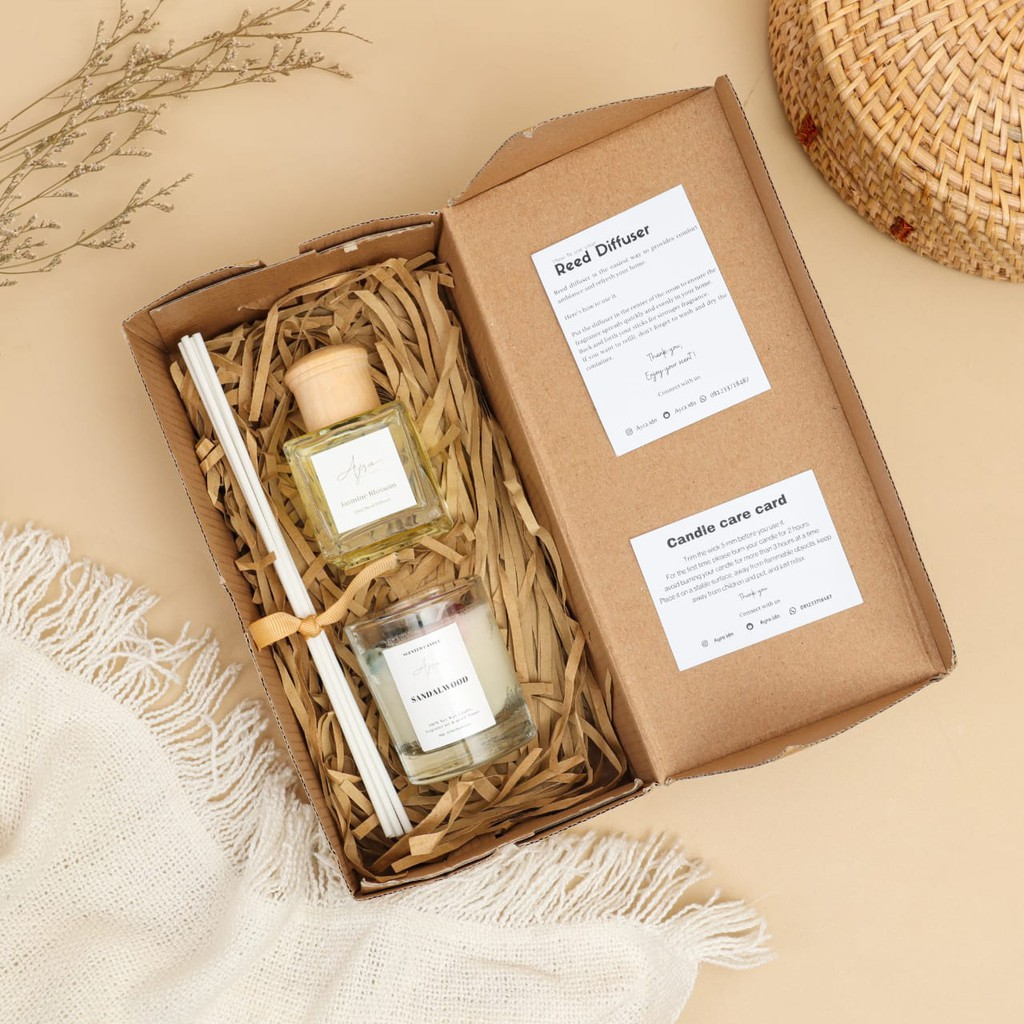 Reed Diffuser Scented Candle