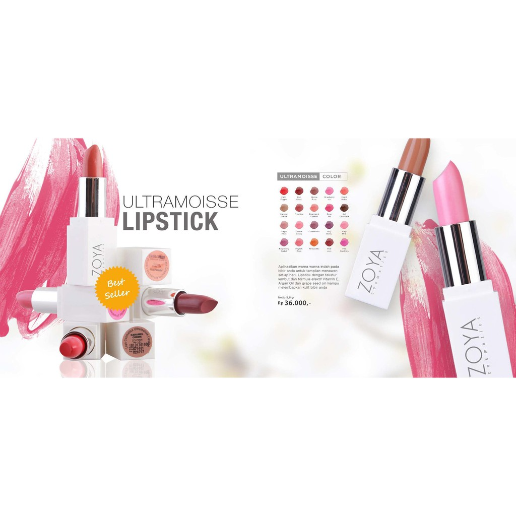 Zoya Cosmetics Ultramoisse Raspberry Sorbet 16 Daftar Harga Lipstick 18 Pinnacota 321363 Shade 11 20 Murah Berkualitas Shopee Indonesia
