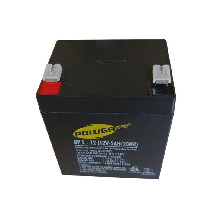 12v 5ah Battery >> Aki Baterai Ups 12v5ah Powerplus Battery Ups 12v 5ah