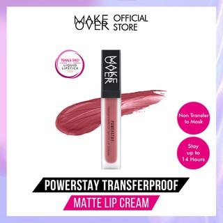 MAKE OVER Powerstay Transferproof Matte Lip Cream 7 g thumbnail