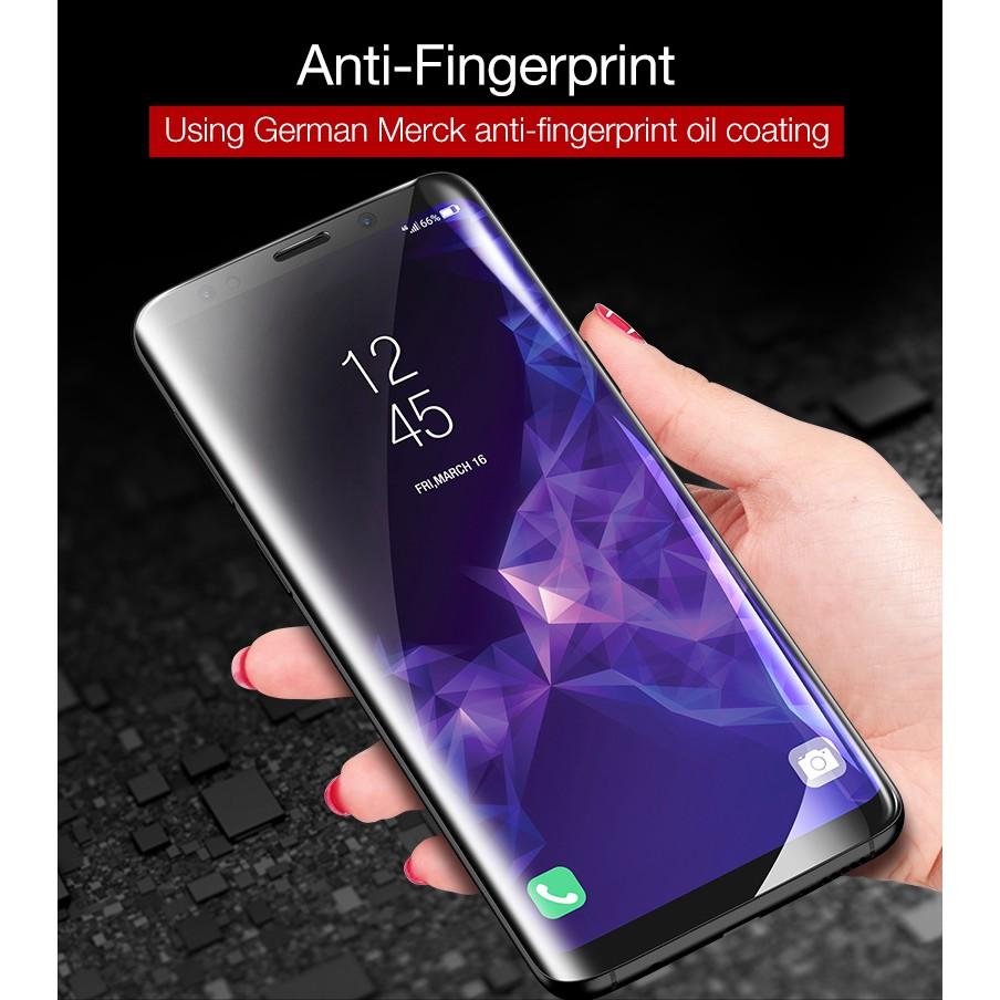 Samsung S8 Plus S8+ Tempered Glass Nano UV Liquid Glue Screen Guard Full Cover | Shopee Indonesia