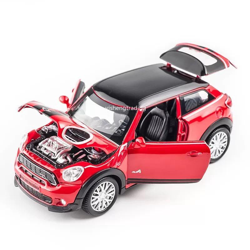 Bmw Mini Cooper >> 1 32 Scale Bmw Mini Cooper S Mobil Baja Diecast Dengan Suara