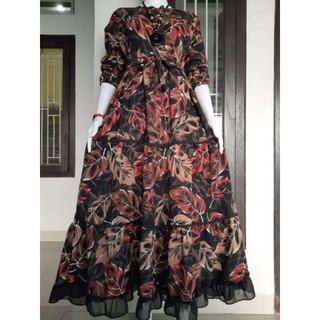 Gamis Monalisa Plat Motif Best Seller Janda Bolong Shopee Indonesia