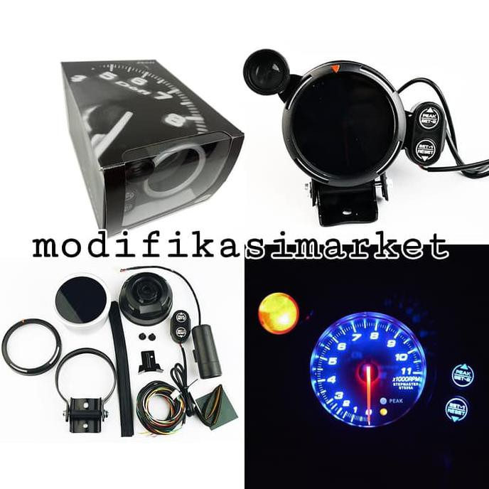 Tachometer Defi Bf Rpm 7 Warna Import Quality