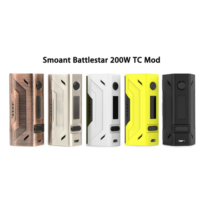 Termurah Smoant Battlestar 200W Tc Mod Battle Star Vape Shopee | Shopee Indonesia