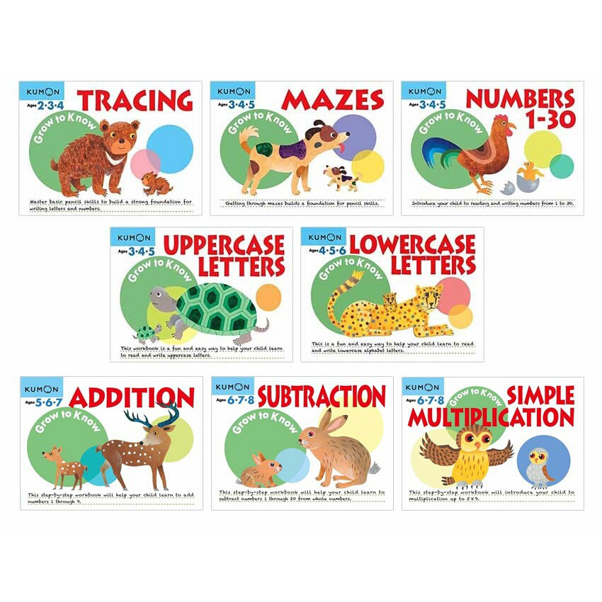 Grow to Know Uppercase Letters