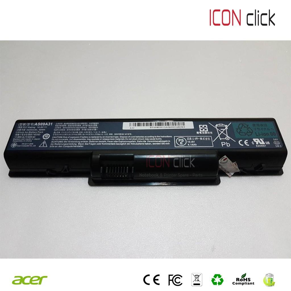 Baterai Laptop Acer Aspire As09a31 As09a71 As09a904732 4732z One 725 756 Ao725 Ao756 V5 121 V131 Black Emchines D725 D720 Shopee Indonesia