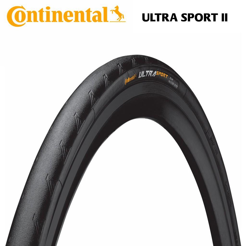 700cm x 25 Black Continental Ultra Sport II Bike Tire