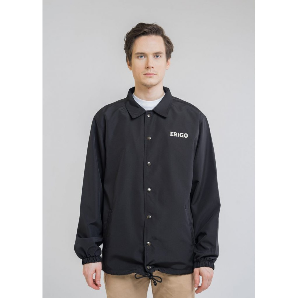 Erigo Coach Jacket Odaiba Black #4