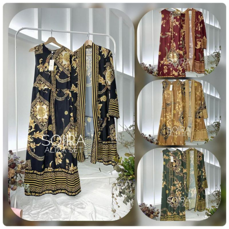 Set Outer Gamis SOIRA
