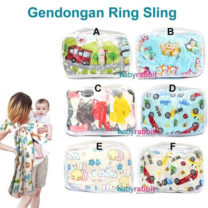 Gendongan Bayi Kain &#40-Ring Sling Petite Mimi&#41- - sling petite   Shopee Indonesia