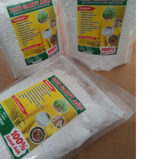 HOT SALE!! (mun-288) Asli Pati Garut, Umbi Garut, obat asam lambung maag gerd