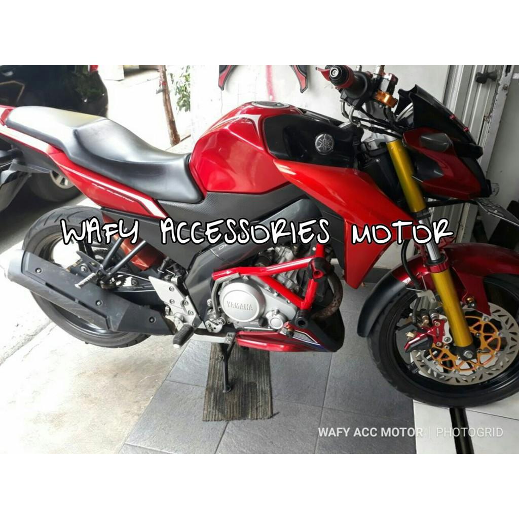 breket full set yamaha xride/tubular x-ride/engine guard x-ride   Shopee Indonesia
