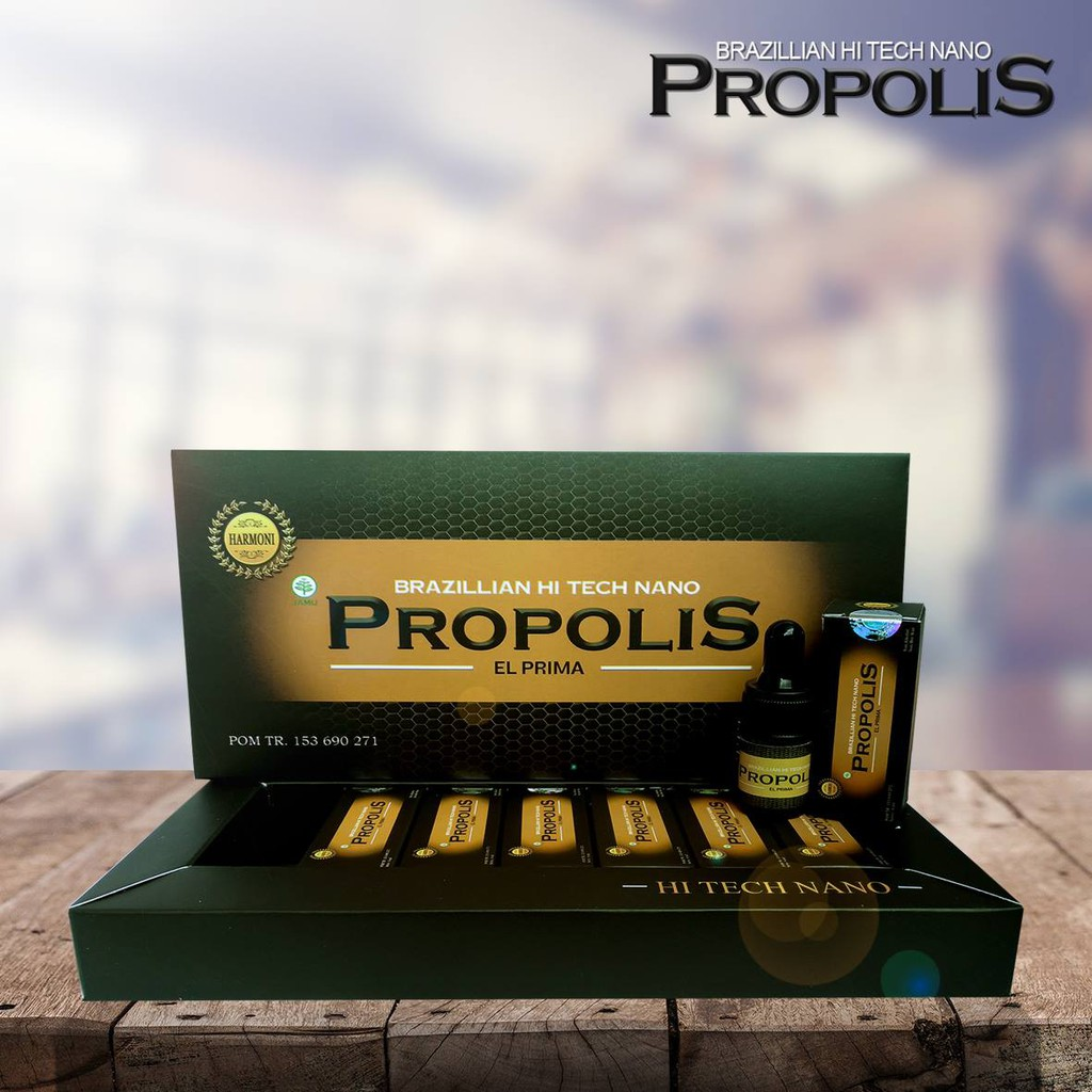 Propolis Brazillian Nano Techno Brazilian Shopee Procetin By Prosmart 1 Box Indonesia