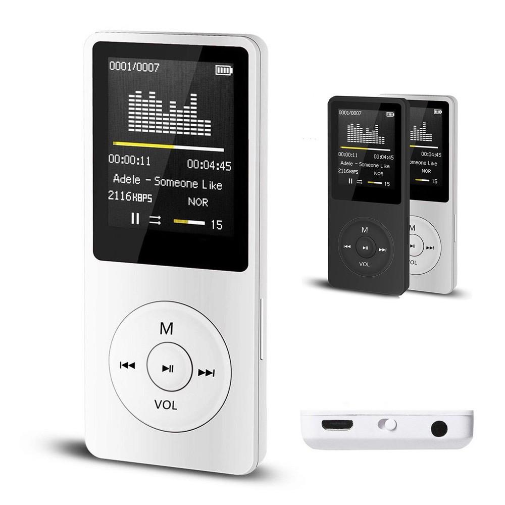 2020 Fashion Portable MP3 MP4 Player LCD Screen FM Radio