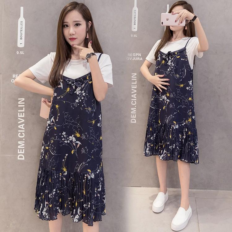 6a2b09fb66708 Dapatkan Harga t shirt Pakaian Wanita Dress T-shirt Baju Hamil Diskon |  Shopee Indonesia
