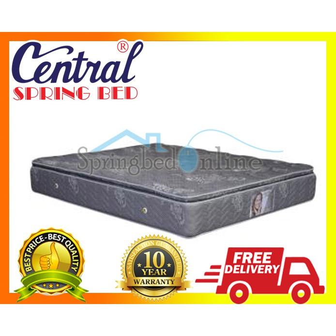 Matras Springbed Central Grand Deluxe Pocket Ukuran 140x200 Kasur Saja | Shopee Indonesia