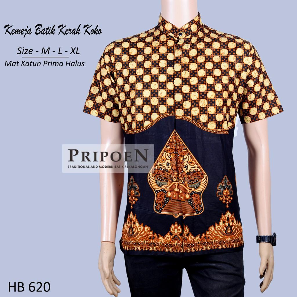 Pripoen Batik HB608 - CLEARANCE SALE KEMEJA BATIK PRIA MOTIF ULIR BEST  SELLER  89749c15a8
