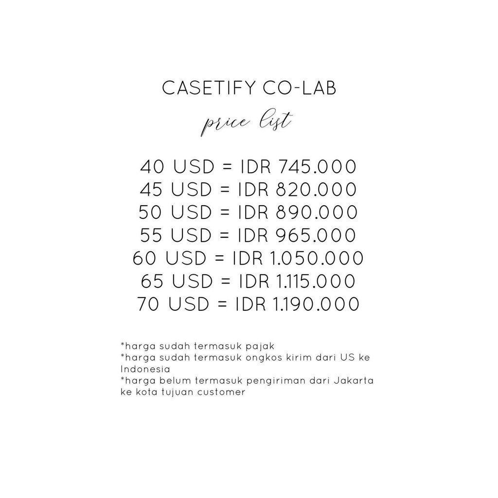 Open Pre Order Casetify Free Custom Stranger Things Hello Kitty Bts Pangram Pangram Louvre Shopee Indonesia