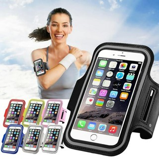 Tas Jogging Lengan Tas Lari HP Running Sport Arm Band Case Tas HP GYM