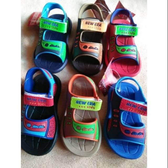Sandal Sepatu Anak Laki Laki Newera New Era Cnc 135 Shopee Indonesia