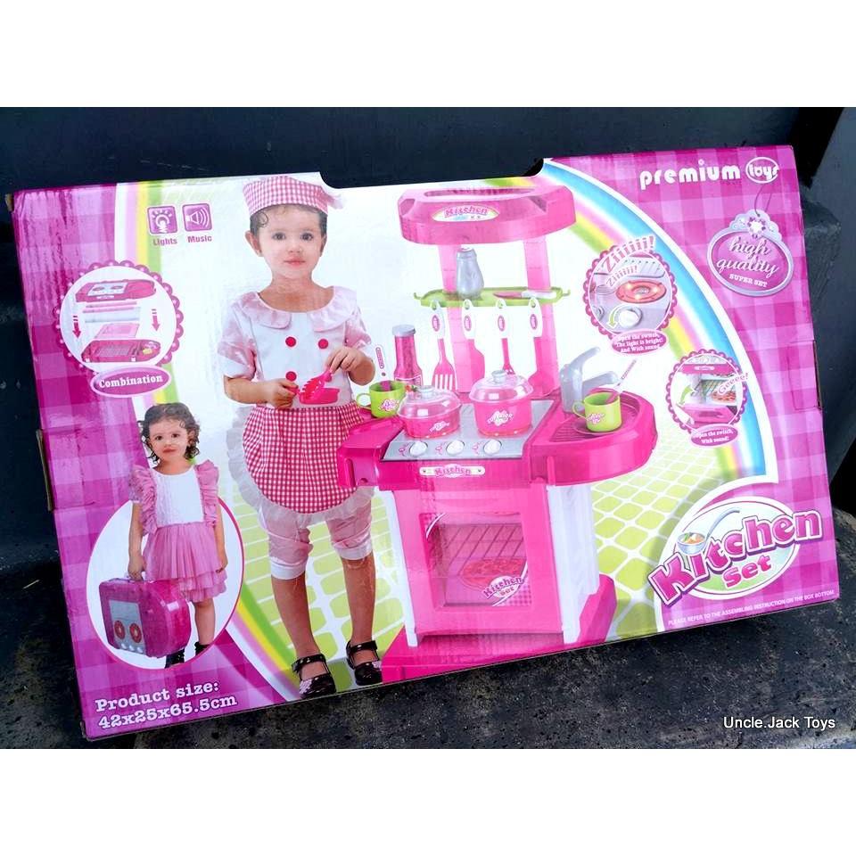 Mainan Anak Mainan Kitchen Set Mainan Masak Masakan Shopee Indonesia