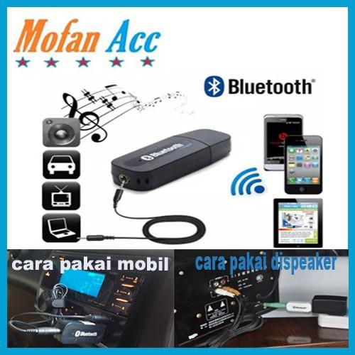 Ulasan Lengkap Bluetooth Audio Receiver CK-02 / usb wireless speaker musik HP 3.5mm reciever adapter kabel aux Perangkat - Belanja Toko Edi Sugiyanto