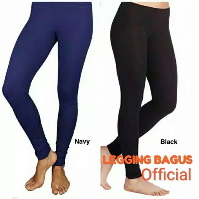 Legging Bagus Celana Legging Panjang Dewasa Legging Panjang Celana Senam Panjang Wanita Shopee Indonesia