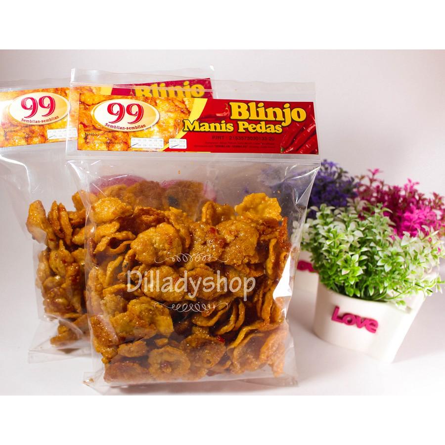 Emping Melinjo Manis Pedas Murah Shopee Indonesia Njo Premium 500 Gram