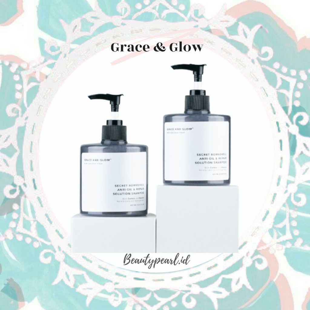 Grace & Glow Secret Bombshell Anti Oil and Repair Solution Shampoo