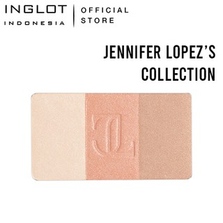 INGLOT X Jennifer Lopez Highlighter Trio Gold Dust - Pinkish Natural Highlighter 5,5 gr thumbnail