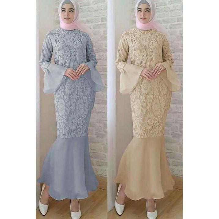 Baju Gamis Wanita 2018 Model Baju Muslim Gamis Terbaru Dan Modern