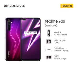 [Extra Disc: REALME25]realme 6 Pro 8/128GB [64MP Quad Cam, 30W Flash Charge, 90Hz Display]