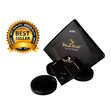 Black Walet Facial Soap - Sabun Pembersih Wajah BPOM PD TORA @90 gr - 2 Pcs | Shopee Indonesia
