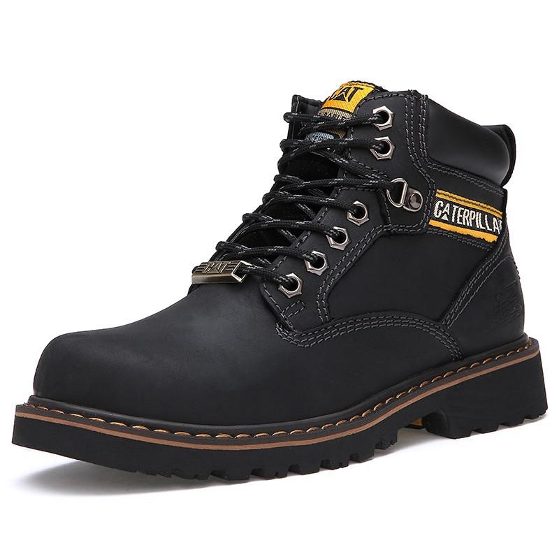 Sepatu Bot Laki Laki Tinggi Untuk Timberland Sepatu Kuning Gelap ... cbf1b59fea