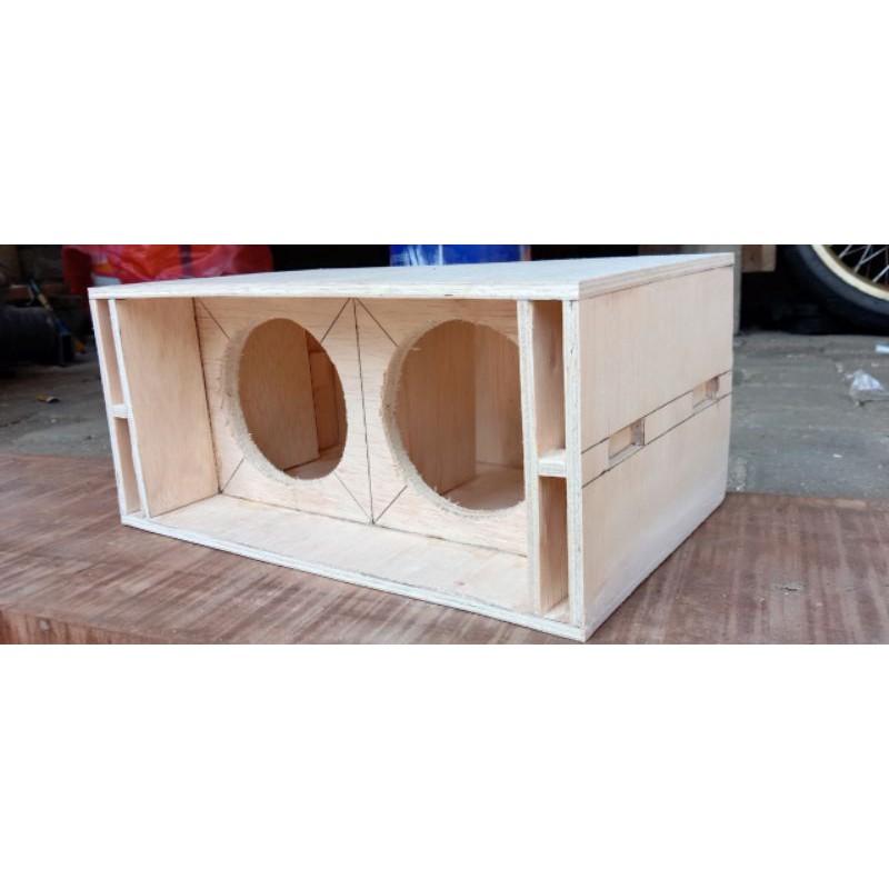box SPL AUDIO double 4 inch